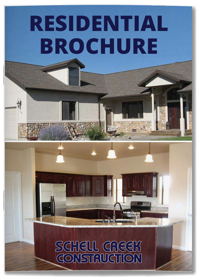 Schell Creek Construction - Residential Brochure
